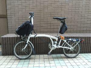折りたたみ自転車で輪行サイクリング こんばんは、まりこさん。はじめまして  まし今持っている自転車をどれか一台だけ残すとしたら絶対にBR