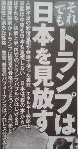 """日本経済 """"HARDLANDING"""" への道程 トランプバブルは 超短命!"""