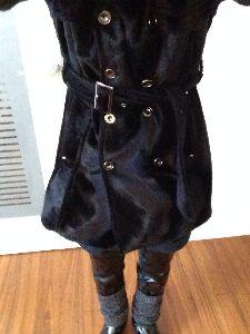 メンズファッション ちょっとニュアンス違うかもしれませんが、目隠しでブーツの上からレッグウォーマーつけてみました。
