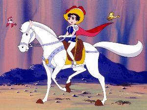 ぼくたち男の娘 君たち男な娘 元祖男な娘、さすがに僕よりも一世代上の時代ですが。  サファイア姫「リボンの騎士」。  国法のせいで