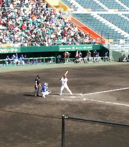 .:*゚..:。:. ふらわー .:*゚:.。:. 勇人見たくて、来ちゃいました(笑) 現在、韓国代表と練習試合です。  立岡が、ナイス3塁打で、重信安