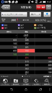 4336 - (株)クリエアナブキ 普段約定ゼロの流動性全くない銘柄のくせに、11700株も出来高つけて、直近終値より10%以上高い39