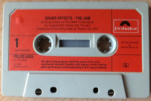 My Fav Five The Jam - Boy About Town (Live)  Sound Affects(198