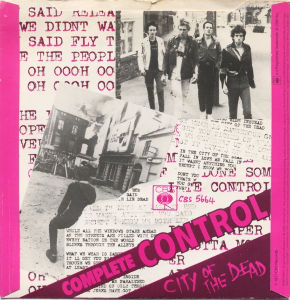 My Fav Five The Clash - Complete Control  Pearl Harbour '