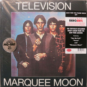 My Fav Five Television - See No Evil  『Marquee Moon』1977  http