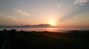 山口よりトコトコ走り隊 阿蘇に軽四にカブ丸積み込んで車中泊ツーしてきました。 温泉三昧に梅雨の晴れ間に恵まれて綺麗な雲海が見