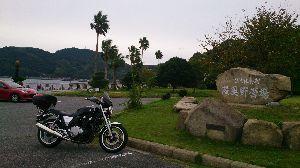 山口よりトコトコ走り隊 周防大島のオレンジロードを最深部(伊保田?)まで走ってきました、みかんもたわわのなってるし、金木犀並