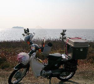 山口よりトコトコ走り隊 瀬戸内の海は寒かったけど穏やかでした(^_^;)