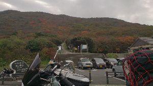 山口よりトコトコ走り隊 牧ノ戸峠は今から紅葉シーズンの開幕ですよん^^