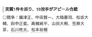 *Akashi Kenji 36 男女応援団* 推しはもちろん出てきて欲しい…でも純平くんや田中くんのキャンプ状況案外悪く無いし気にな