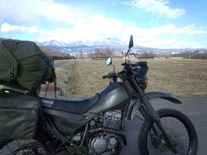★スーパーシェルパ★ 土曜日から3日間、信州の別荘にシェルパで行って来た。 地元の人に「バイクで来るなんて無謀」って言われ