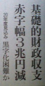 日本国の財政破綻はいつか ヤバイかも今、危機感を・・・・そのⅡ