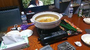 長崎発 オヤジライダー復活祭り 今夜の宿は、山口県のライダーハウス レッドsun ¥2000  なんと、今日だけ鍋サービス❗