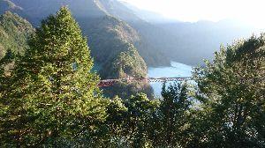 静岡でバイク乗り みなさん こんばんは  バイクの初乗りしてきました  接岨峡へ向かい 井川線の奥大井湖上駅へ 初めて