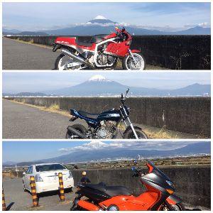 静岡でバイク乗り 皆さまこんばんは! 今日は「年末ジャンボ宝くじツーリング」に! 先月の20日からクルマで1回とバイク