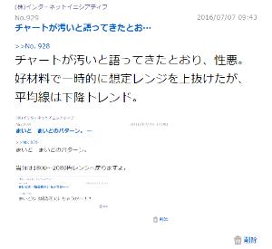 3774 - (株)インターネットイニシアティブ (再度)だからチャート無視しちゃダメって言ったぢゃないのぉ♪