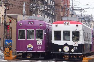 主婦の部屋♪あれこれと~  全区間と違いますが 京都市内にも路面電車が 走っています