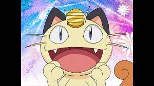 ★★★アニメ関連山手線ゲーム☆☆☆ 14.ニャース  ポケットモンスターより ロケット団のポケモンで猫をモチーフにしている。 声は犬山イ