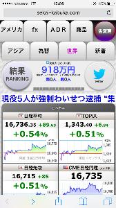 負けるな日本株!嵌め込み御免(。・ω・。)ゞ ふふふ