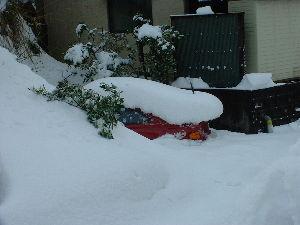 新 40代の休憩所  あの年末の大雪にはビックリしたね!!  僕も大晦日の出勤が取りやめになり、 当時乗っていた赤いセリ
