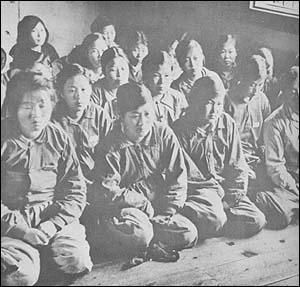 部落差別を容認した朝日 ◆朝鮮戦争時に北朝鮮の女性兵士や女性ゲリラの捕虜のほか、北朝鮮・中国側の協力者と判断されたり、逃げ遅