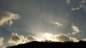 スマホで撮りました。 いつも の  空?