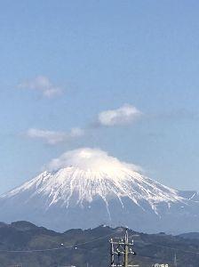 兵庫わびさびの道 弐 さすがに静岡は暖かでした 久しぶりに見事な富士山見れました🎵