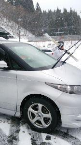 ☆埼玉発☆平日スキーヤー募集♪ 本日「かぐら」にてシーズンインしました(^^)/写真は愛車です。