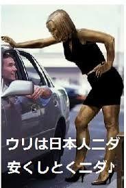 朴槿恵韓国政権 > 世界は未だに韓国人女性は売春をやっていると思っています、国辱モンです。   今現在世界中で