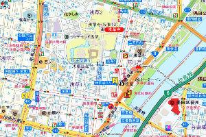 9009 - 京成電鉄(株) どうして,末広町がなくなったのでしょうか.田原町では朝鮮になってしましますよ. そんなに山陽電鉄の塗