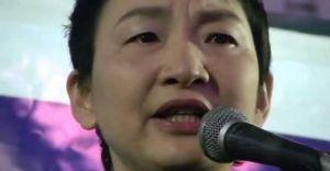いま、NHKのニュースで  「あなた達が強姦して産ませた子供が在日韓国朝鮮人」              在日韓国人・辛淑玉は