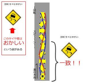 炯々と紅蓮 >   ダ~ンッ!  本日は車で兵庫県の田舎の方に行ってたんですが、 道路が凍結、車を運転する