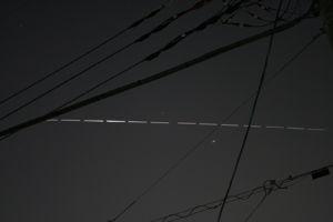 星景写真仲間 SBRさん今晩は、梅香と言います宜しくお願いします 今も続いているのでしょうか、私は国際宇宙船ISS