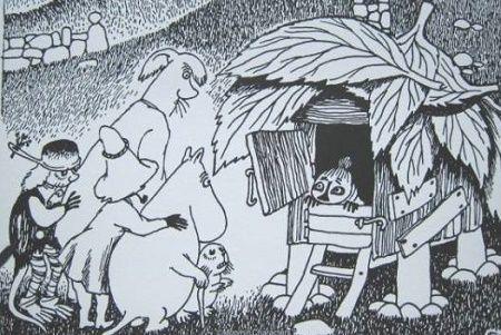 相場の奥の細道とうりゃんせ Tales from Moominvalley 「ムーミンパパの思い出」にでてきます 海のオーケスト