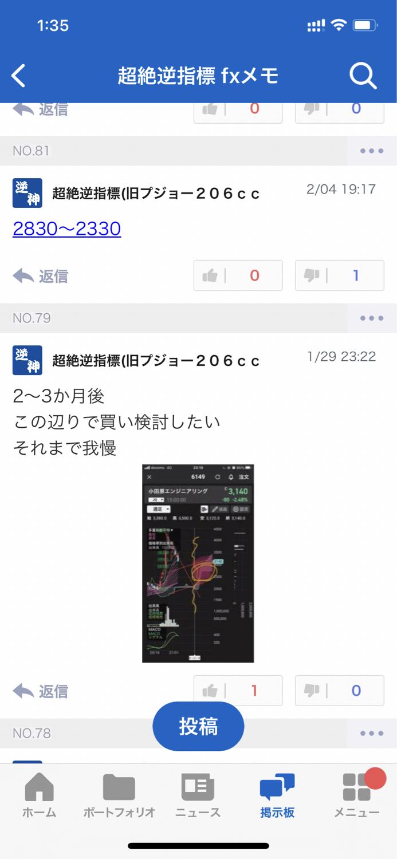 6149 - (株)小田原エンジニアリング ワタクシ、2月の頭時点で2830円割れを想定してたんですが、 1分足チャート君にあーだこーだ言われて
