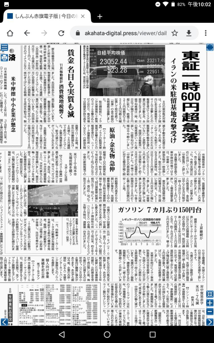 8301 - 日本銀行 軍事的緊張は、世界経済にも混乱をもたらす。