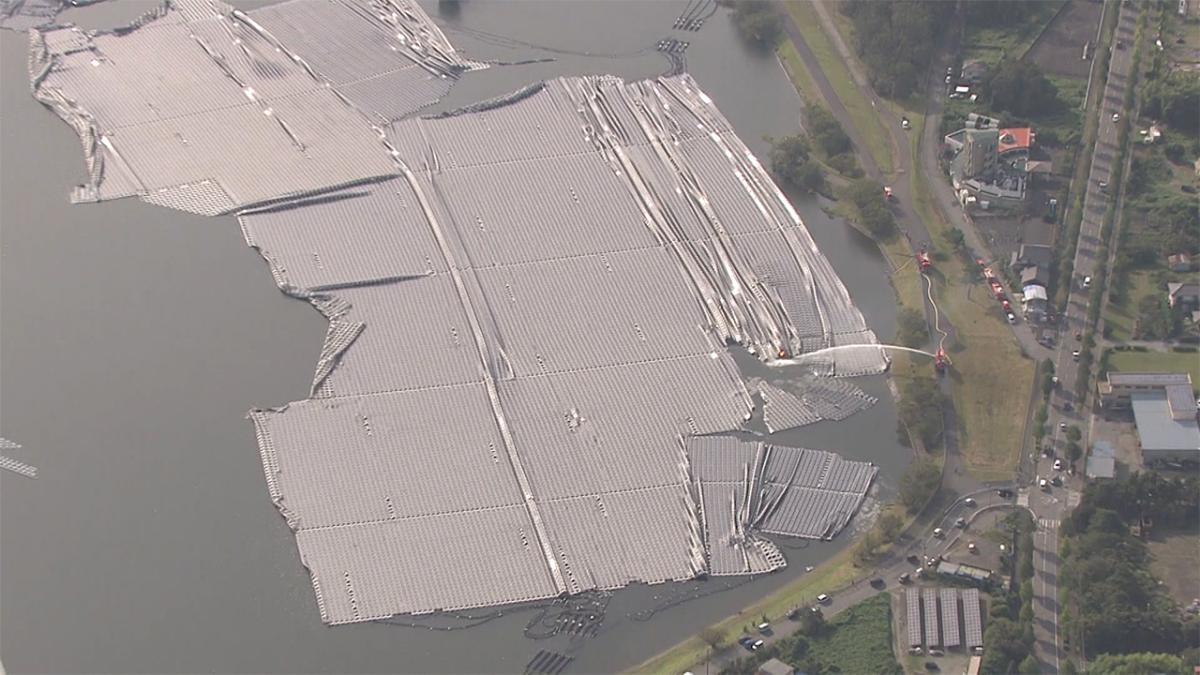 1407 - (株)ウエストホールディングス 台風15号被害あった水上メガソーラーってウエストHじゃない⁉️