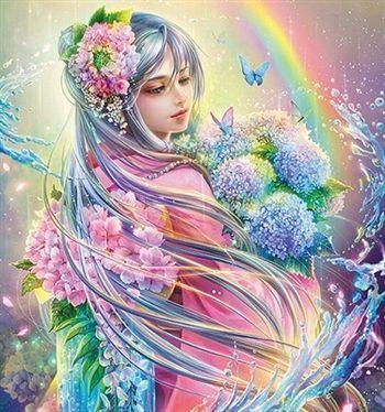 50過ぎたら自分の為に生きたいね((o(^∇^)o)) スレのイメージ看板いイイね〜  では「風呂の神様 罔象女神(みずはのめの神)」をプレゼント  印刷し
