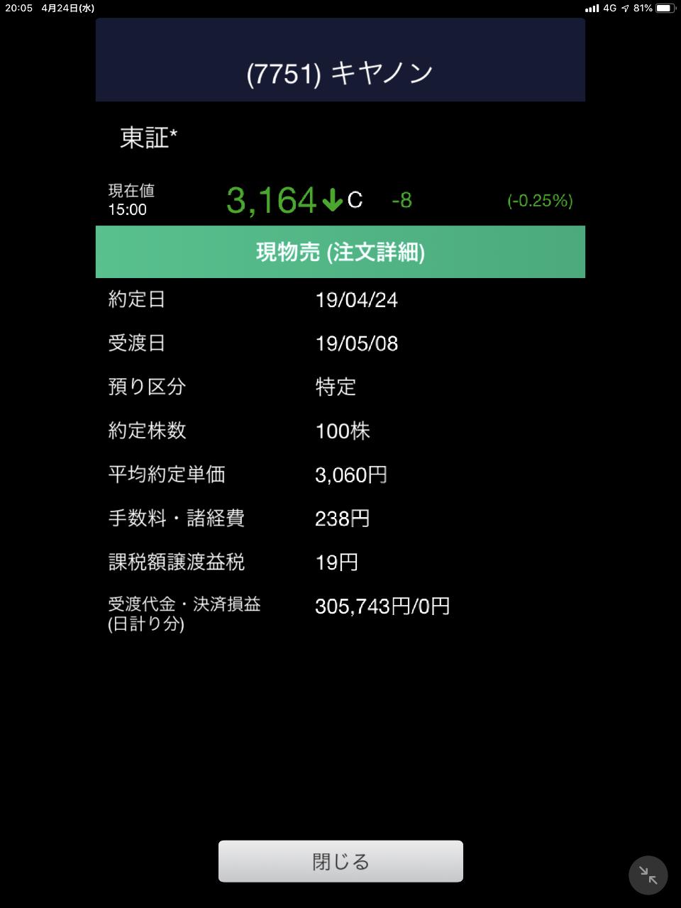 7751 - キヤノン(株) 証拠