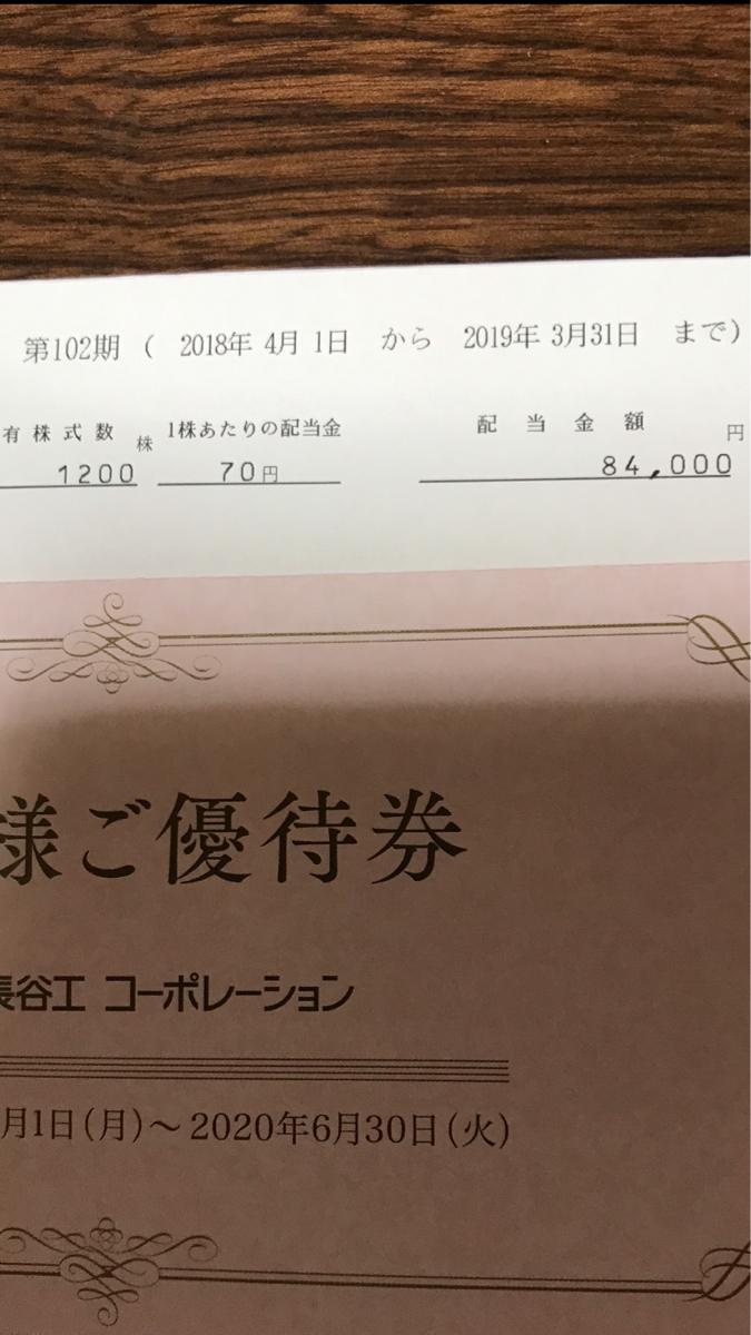 1808 - (株)長谷工コーポレーション コスト1462円今はかなり下がってショックだけど!今となっては切り替えて銀行の定期預金に比べるとはる