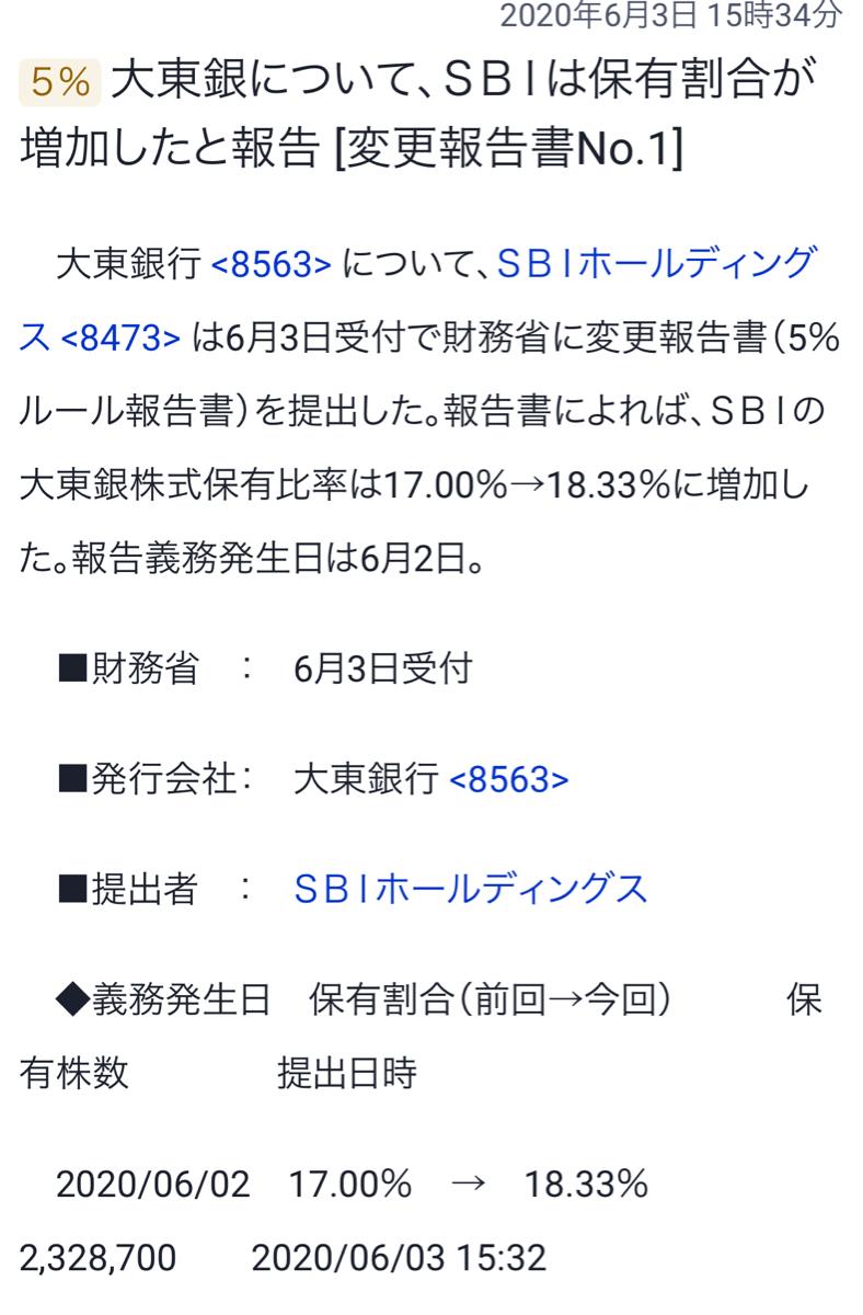 8563 - (株)大東銀行 さあ!どうなる^ ^?