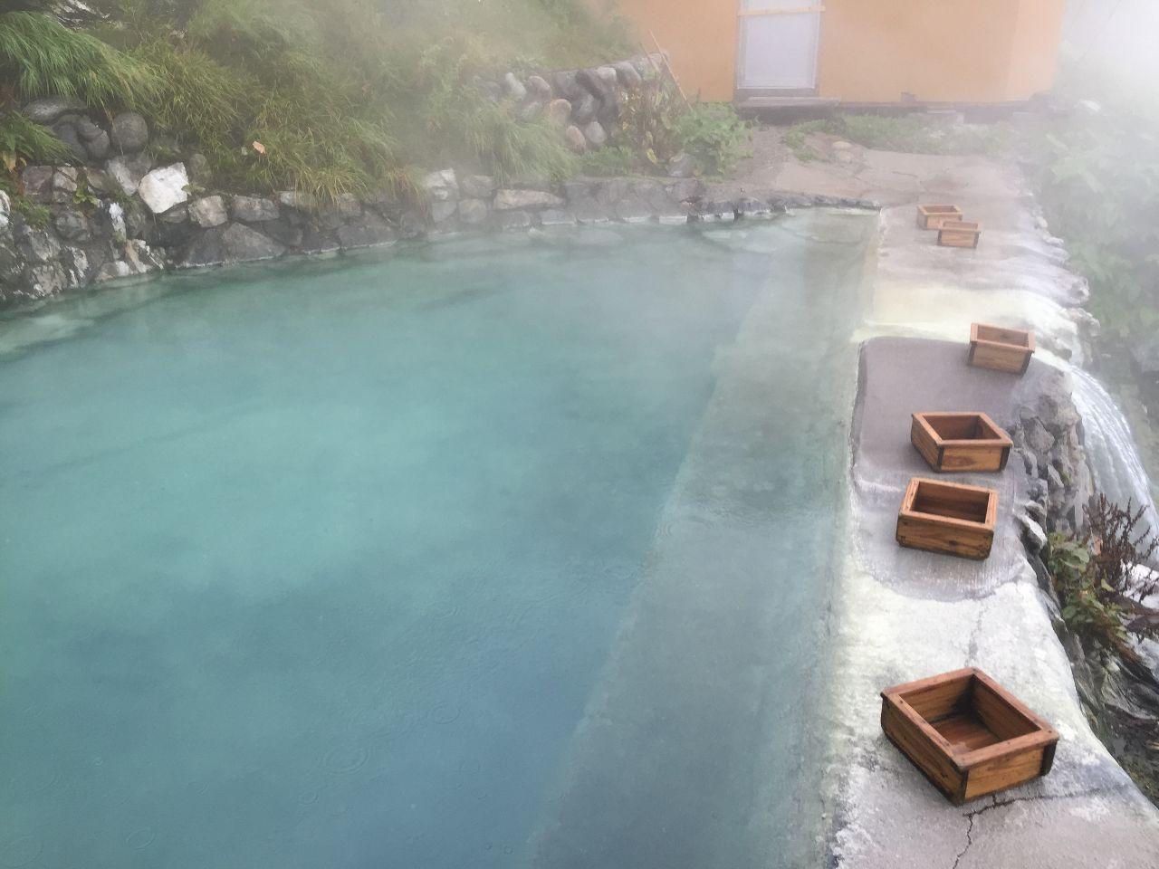 ストップ高とオンリーワン銘柄で今日も良い一日を! チョット前に行った 白馬鑓温泉♨️ 2000mにある 山小屋の温泉です!