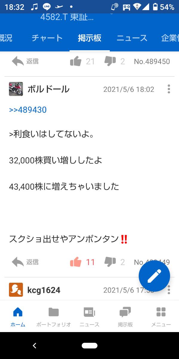 4582 - シンバイオ製薬(株) 海‼️  スクショ出せ‼️