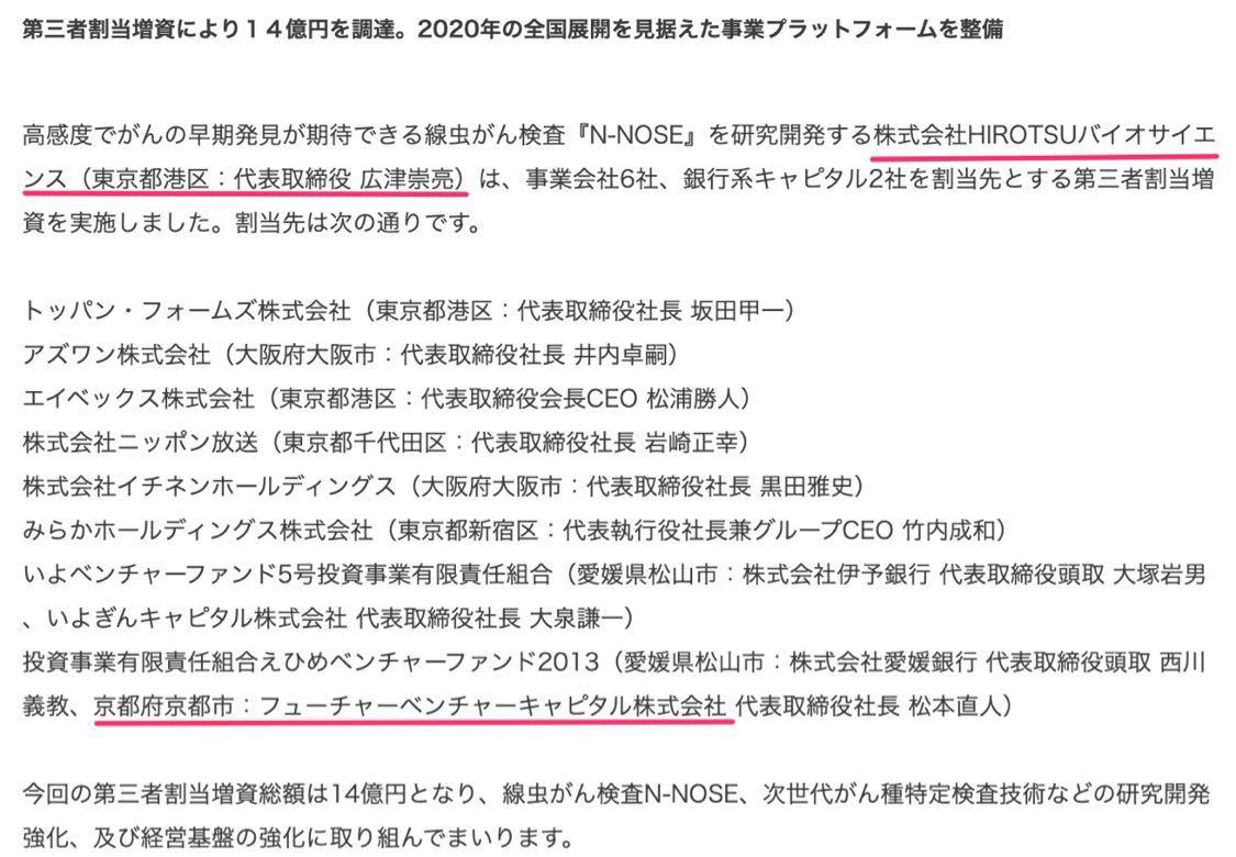 8462 - フューチャーベンチャーキャピタル(株) いよいよ👍
