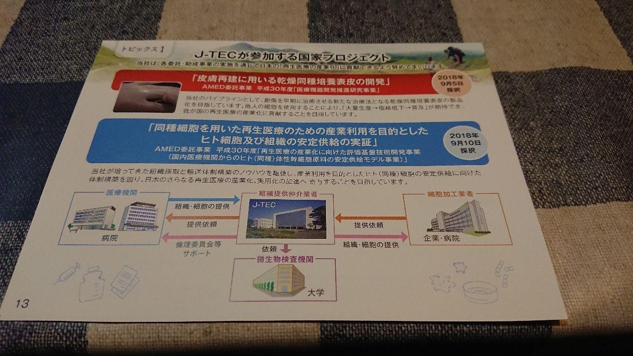 7774 - (株)ジャパン・ティッシュ・エンジニアリング 写真じゃ無理かな?