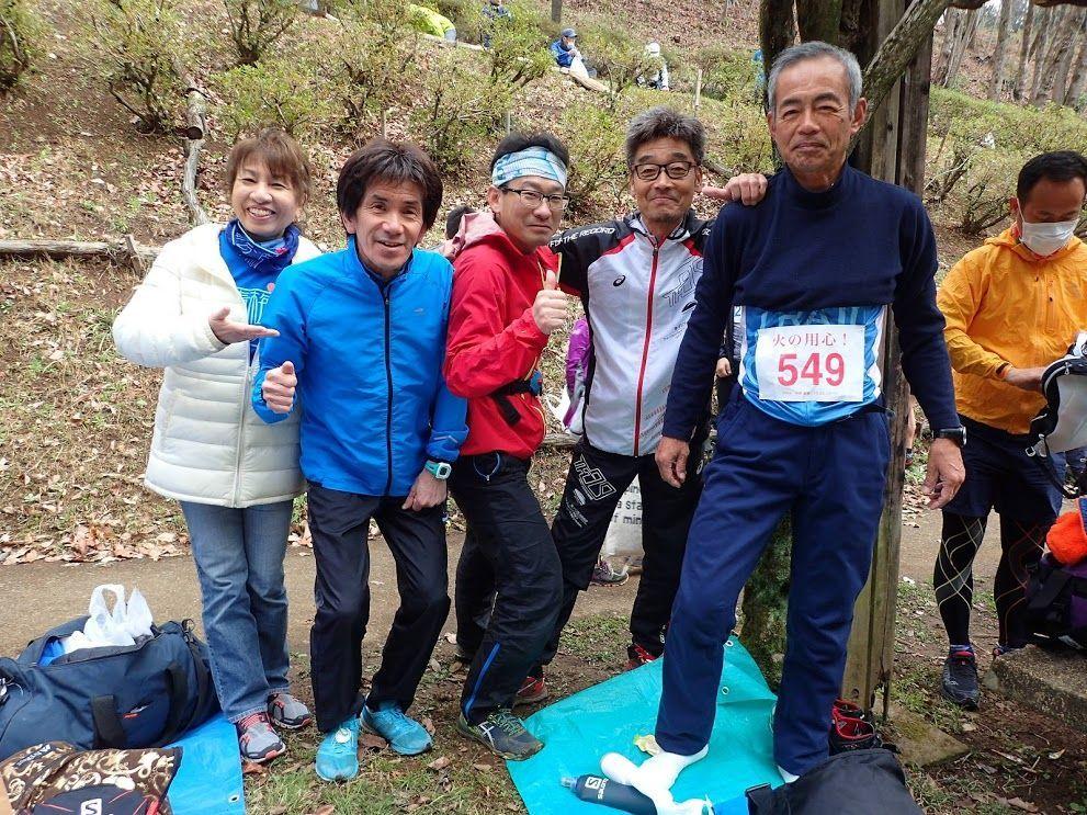 奥多摩発・山を駆けるトピ 先週の日曜日、青梅高水トレイル・ランに出場してきました。 ハリマネ応援団の暖かくも身が引き締まるほど