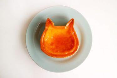 ポンコツにゃく板 猫組長オキニのチーズケーキ