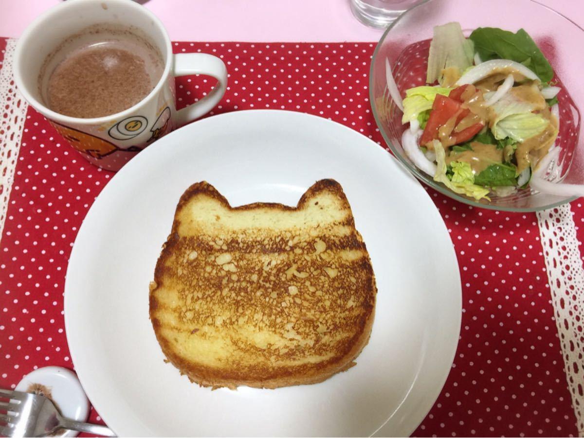 ポンコツにゃく板 Good morning ‼️ 朝食でつ。