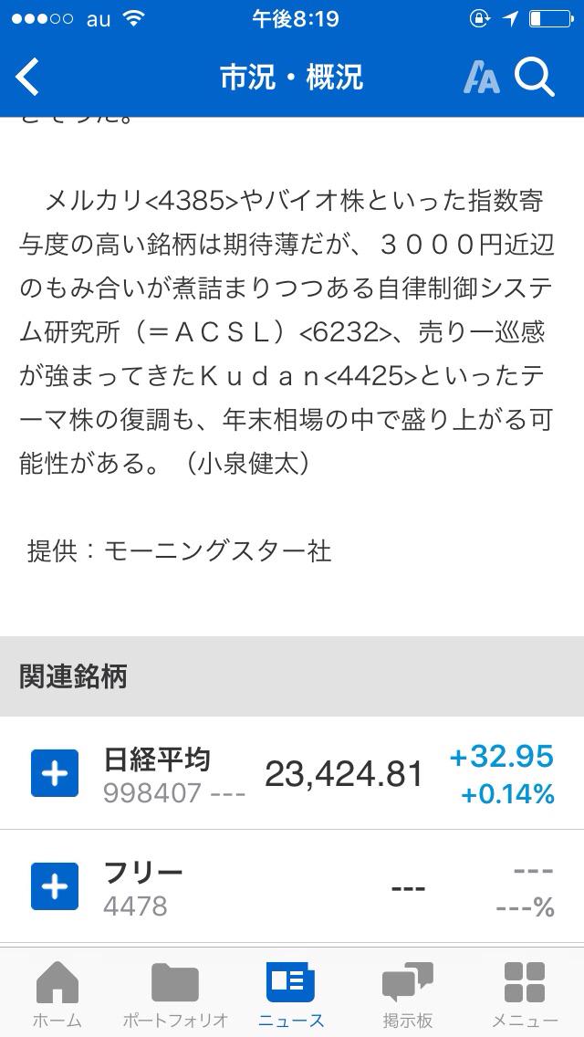 4425 - Kudan(株) 売らなければ下がりません!  ガチホルダーぜよ!