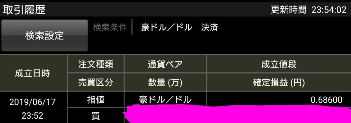 アヤの為替・株情報【継続版】 豪ドル、利確~🎵